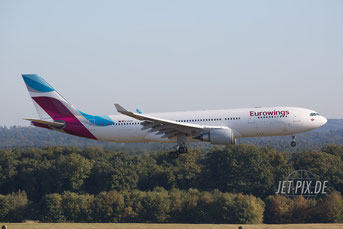 D-AXGD Eurowings Airbus A330