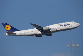 D-ABYQ Lufthansa Boeing 747