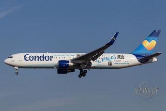 D-ABUZ Condor Boeing 767