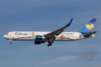 D-ABUE Condor Boeing 767