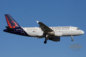 OO-SSM Brussels Airlines A319