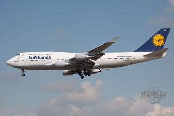 D-ABVB Lufthansa Boeing 747