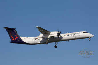 G-JECY Brussels Airlines Dash