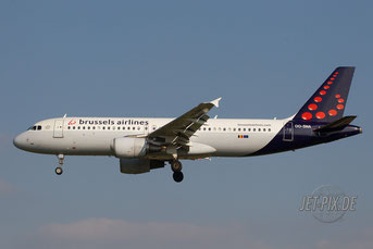 OO-SNA Brussels Airlines A320