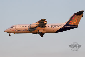 OO-DWF Brussels Airlines Avro