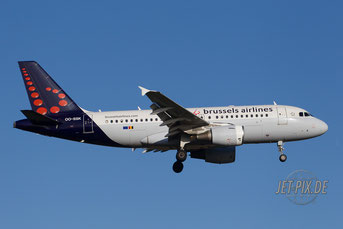 OO-SSK Brussels Airlines A319