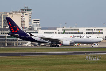OO-SFZ Brussels Airlines A330
