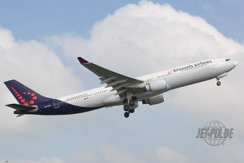 OO-SFW Brussels Airlines A330
