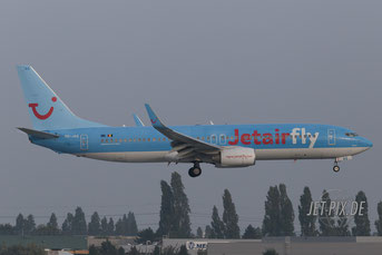 OO-JAQ Jetairfly Boeing 737