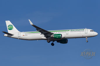 D-ASTE Germania Airbus A321
