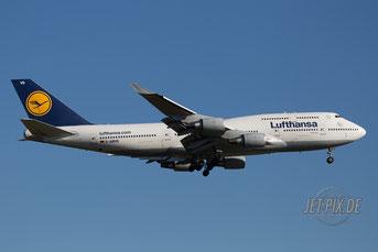 D-ABVS Lufthansa Boeing 747