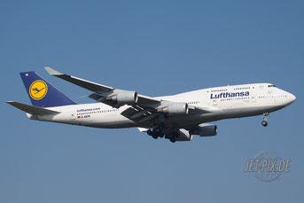 D-ABTA Lufthansa Boeing 747