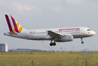 D-AGWS Germanwings A319
