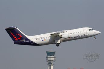 OO-DWE Brussels Airlines Avro