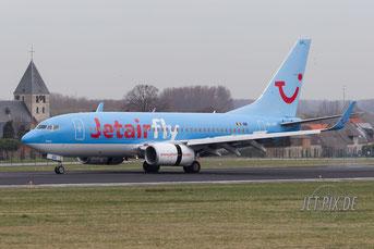 OO-JAR Jetairfly Boeing 737
