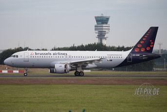 OO-SNE Brussels Airlines A320