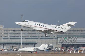 M-UKHA Private Raytheon Hawker 800XP Flughafen München Sicherheitskonferenz 2017