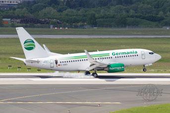 D-AGEU Germania Boeing 737