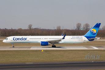 D-ABOE Condor Boeing 757