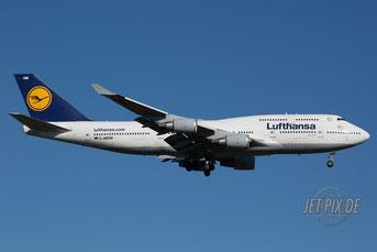 D-ABVM Lufthansa Boeing 747