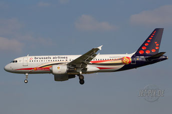 OO-SND Brussels Airlines A320