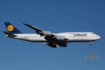 D-ABYU Lufthansa Boeing 747