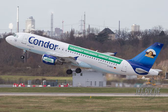 D-AICC Condor Airbus A320