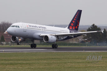 OO-SSI Brussels Airlines A319