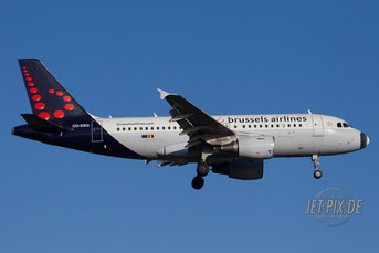 OO-SSQ Brussels Airlines A319