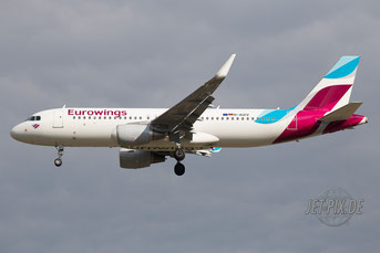 D-AIZV Eurowings Airbus A320