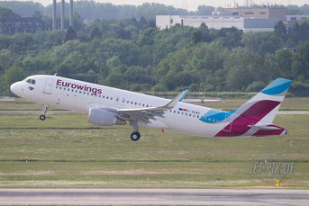 D-AEWC Eurowings Airbus A320