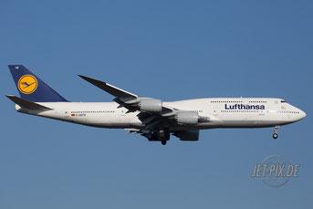 D-ABYN Lufthansa Boeing 747