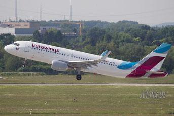 D-AEWB Eurowings Airbus A320