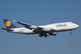 D-ABTB Lufthansa Boeing 747