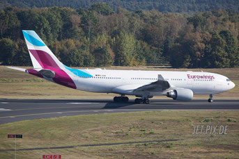 D-AXGB Eurowings Airbus A330