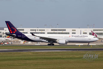 OO-SFV Brussels Airlines A330