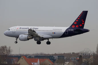 OO-SSH Brussels Airlines A319