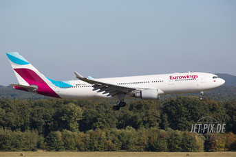 D-AXGC Eurowings Airbus A330