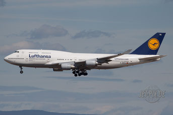 D-ABTC Lufthansa Boeing 747