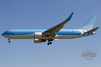 OO-JAP Jetairfly Boeing 767