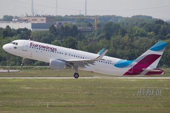 D-AEWF Eurowings Airbus A320