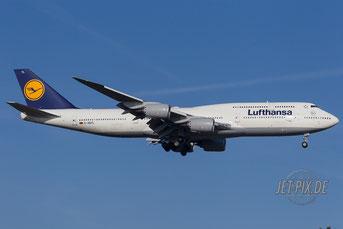D-ABYL Lufthansa Boeing 747