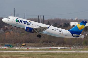 D-AICD Condor Airbus A320