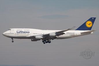D-ABVA Lufthansa Boeing 747