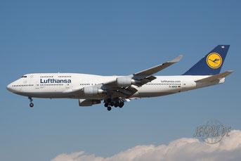 D-ABVE Lufthansa Boeing 747