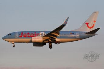OO-JAS Jetairfly Boeing 737