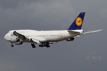 D-ABYP Lufthansa Boeing 747