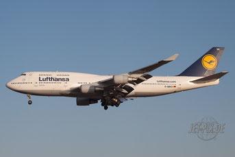 D-ABVX Lufthansa Boeing 747
