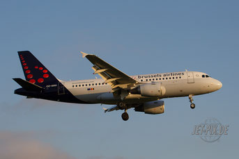 OO-SSG Brussels Airlines A319