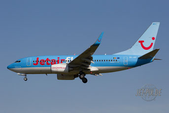 OO-JAO Jetairfly Boeing 737